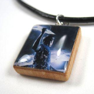 PERCY JACKSON Scrabble Tile Pendant W/ FREE Necklace