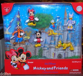 Disney Mickey and Friends Cake Topper Figurine Figure Playset NEW
