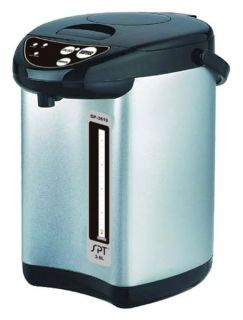 Hot Water Dispenser w Dual Pump System & Stainless Steel Body
