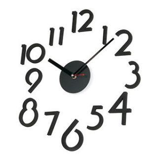 DIY Modern Home Deco Wall Clocks Interior Assembling Decoration Clock