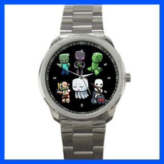 Best New Item MINECRAFT MONSTERS CHARACTER Sport Metal Watch For Sale