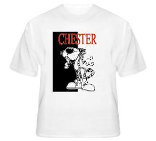 Chester Cheetah Cheetos Funny Junk Cheese White T Shirt