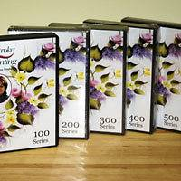 Complete Series ONE STROKE PAINTING with DONNA DEWBERRY 15 DVDs 30