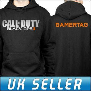 Call of Duty Black Ops 2 Xbox 360 PS3 Hoodie Hoody Personalised on