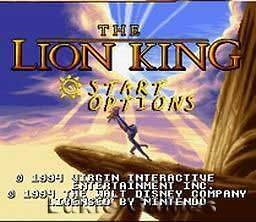 DISNEYS THE LION KING   SNES Super Nintendo Game!