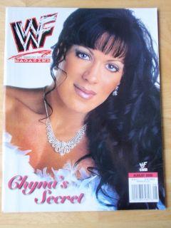 WWF female wrestling magazine/Diva CHYNA 8 00
