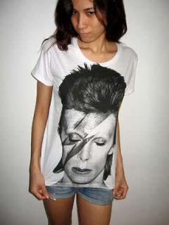Ziggy David Bowie Glam Punk Pop Rock T Shirt S