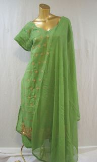 INDIA BOLLYWOOD PATIALA SALWAR KAMEEZ WEDDING PARTY OUFIT CAFTAN DRESS