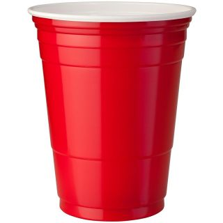 Red or Blue Solo Plastic Party Cups   Official Glee Party Cups