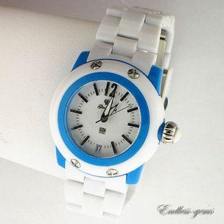 Glam Rock Watch GK4011 Womens Miss Miami Beach White Dial Blue