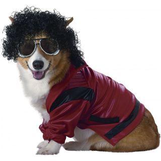 Pop King Pet Michael Jackson Boy Halloween Dog Costume
