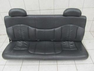 Chevy Silverado Truck REAR SEAT leather folding back seats trim