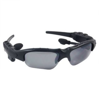 Fashionable Headset Sunglasses Sun Glasses WMA Sports  Player Black