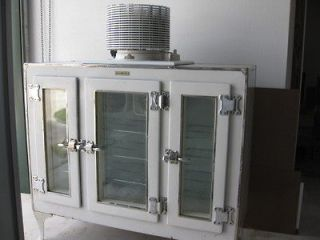 1927 GE MONITOR TOP 3 glass door refrigerator RARE RARE RARE