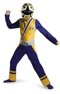 Power Rangers Samuirai   Gold Ranger Boys Costume