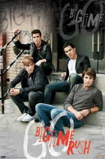 MUSIC POSTER ~ BIG TIME RUSH STAIRS BTR Kendall Schmidt James Maslow