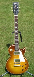 GIBSON LES PAUL R8   1958 HISTORIC STANDARD   FLAMETOP REISSUE   MINT