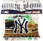 NEW YORK YANKEES GLOW DARK SILLY BANDZ 5PC BANDS