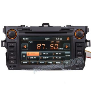Car GPS Navigation Radio HD Touch Screen TV DVD Player for 07 11