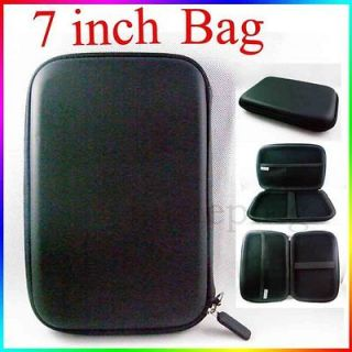 Hard Pouch bag Case for 6 7 GPS Samsung P1000 Tablet Kindle Fire