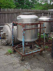 100 gallon Stainless Steel Pressure Tank 50 psi @ 300 F