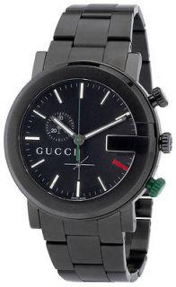 Gucci G Mens Chrono Black PVD Watch YA101331