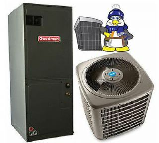 Ton 2.5 ton 13 seer HEAT PUMP 410a Goodman Complete System