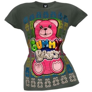 Gummy Bears   Big Gummy Juniors T Shirt