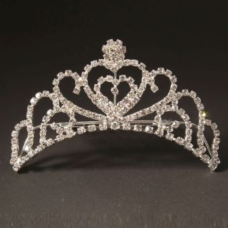 New Wedding Bridal Rhinestone Crown Hair Comb Pin Tiara Hot Selling