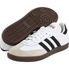 Adidas Originals Samba Classic Indoor Soccer White Black 772109 Mens