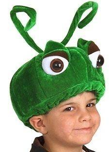 GRASSHOPPER HAT bug kids boys bugs life caterpillar girls costume