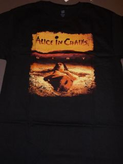 ALICE IN CHAINS Dirt T Shirt **NEW band music concert tour Med M