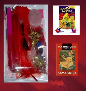Karma Sutra Lovers Card and Dice Play Pack