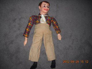 Antique vintage Ventriloquist Figure Dummy Doll Puppet