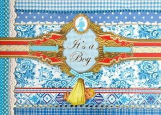 PIP STUDIO GREETING CARD ITS A BOY (PIP064) NEW IN CELLO