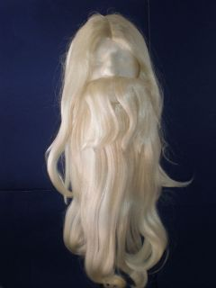 Rip Van Winkle Wig Beard Wizard Gandalf Merlin by Lacey Costume Wigs