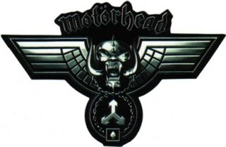 15666 Motorhead Skull Wings Logo Sticker Decal Heavy Metal Motor Head