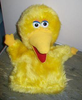 Muppets Sesame Street Applause Big Bird Plush Hand Puppet 13