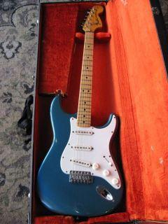 1974 Fender Stratocaster guitar LAKE PLACID BLUE Strat vintage