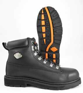 HARLEY DAVIDSON DRIVE STEEL TOE AFTER RIDE BOOT. ORIGINAL AND FIRST