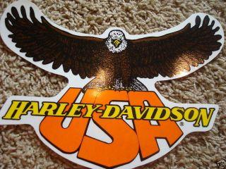 New Harley Davidson XL USA Eagle Window Decal Sticker