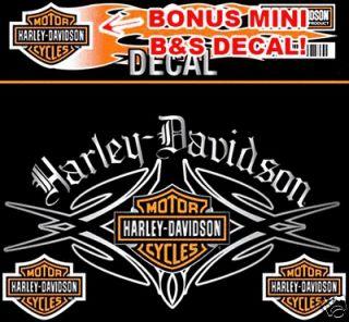 HARLEY DAVIDSON NATIVE DECAL XXL 10 INCH