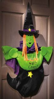 Halloween Witch Candy Holder Home Yard outdoor sign decoration~Great