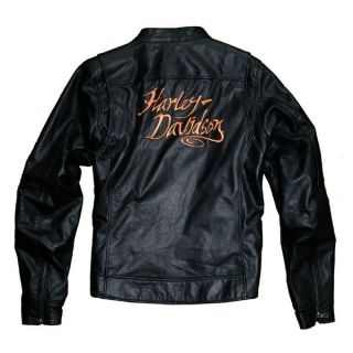 Harley Davidson Womens Meadow Valley Leather Jacket SALE WAS£289NOW£