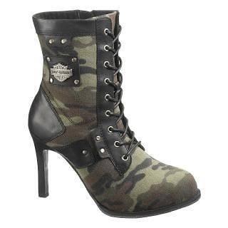Harley Davidson Womens Vikki Boots