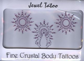 VAJAZZLE SEXY TATTOO HOLIDAYS 2011   TURQ/PINK/SIL/GOLD EXPEDITED