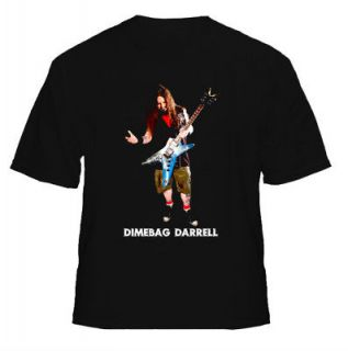 Axe Man Dimebag Darrell Heavy Metal T Shirt