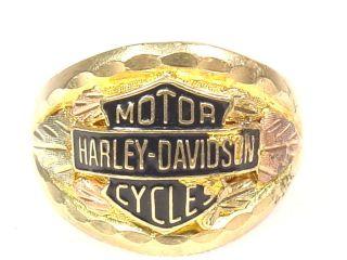 black hills gold harley davidson rings