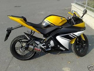 Yamaha YZF R125 Full Exhaust System with fuel control module