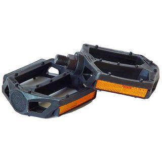 Black BMX Pedals Haro Pedals Haro Fusion 1/2 BMX Pedals